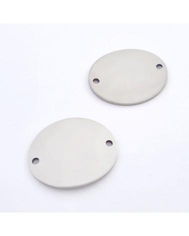 Cierre con forma de 3, para separar o engarzar, 14 mm de largo, 7 mm de ancho (20 pcs)