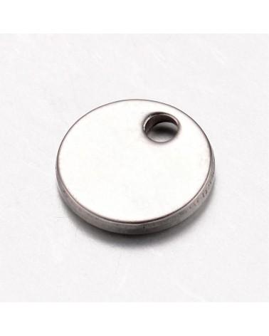 Cadena de eslabón abierto color plata envejecida, medida 3,5x4,5mm (1metro).