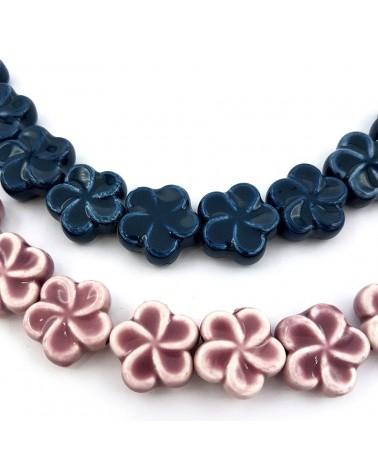 Perlas de vidrio, redondo, color cobre, 4 mm agujero: 1 mm  (50 Unidades)
