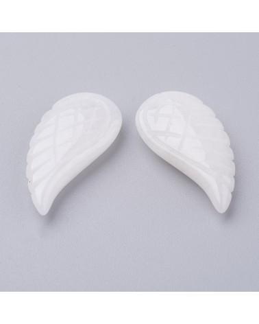 Corazón enamorados color plata 14x12mm hueco 1,5mm (1pc).