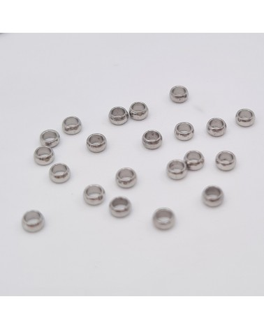 Conector pulsera Rhinestone Mariposa 26x23x3.5 mm, agujero: 1.5 mm (1 PC).