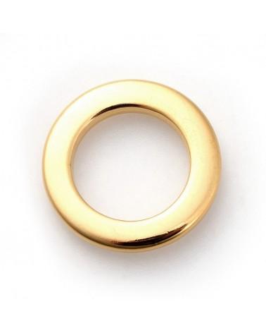 Medalla frase (Abuela) 20mm, color plata vieja, hueco 2mm (1 Unidad).